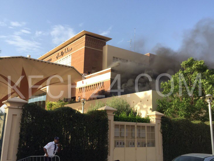 معطيات جديدة حول الحريق الذي شب في محطة القطار بمراكش و