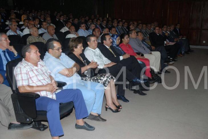 الوالي عبد السلام بيكرات يجتمع بوكـلاء اللوائح الانتخابية بمراكش + صور