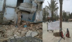آسفي: الوالي لبجيوي ومدير العمران يعجزون عن حل مشكل المنازل الآيلة للسقوط
