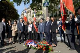 تدشين لوحة تذكارية تكريما للملك الراحل محمد الخامس بباريس