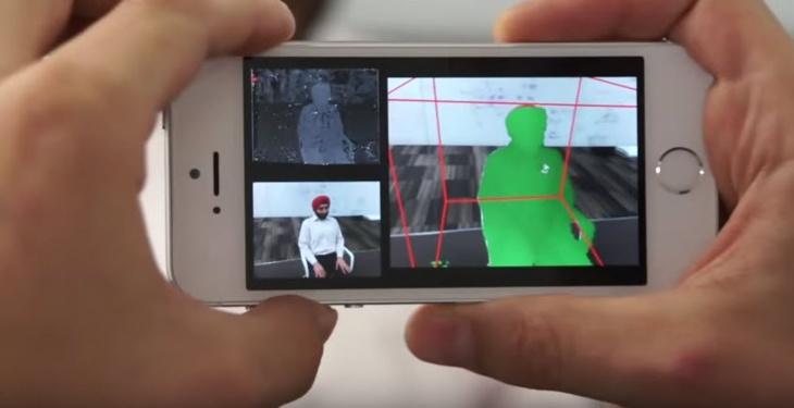 مايكروسوفت تحول كاميرا هاتف آيفون إلى ماسح ثلاثي الأبعاد + فيديو