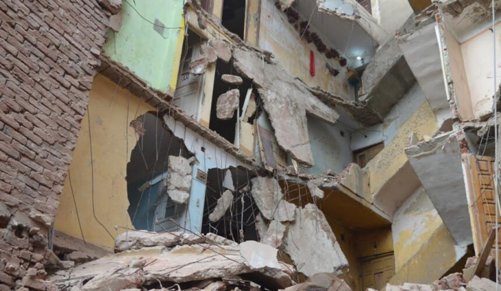 عاجل : انهيار منزل بحي السلام بمراكش