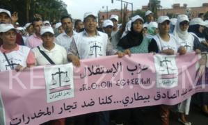 الإستقلاليون يحشدون أنصارهم في حملة غير مسبوقة باتجاه أحياء المدينة العتيقة لمراكش