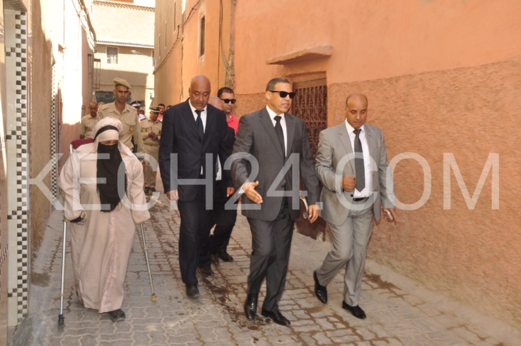والي الجهة عبد السلام بيكرات يتفقد مشاريع مراكش الحاضرة المتجددة + صور حصرية وڤيديو
