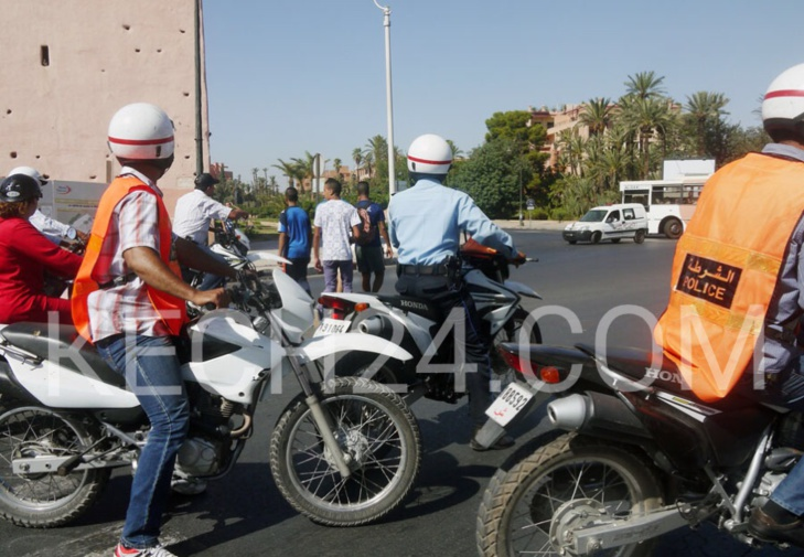 اعتقال شبكة اجرامية بين طنجة ومراكش (المديرية العامة للامن الوطني)