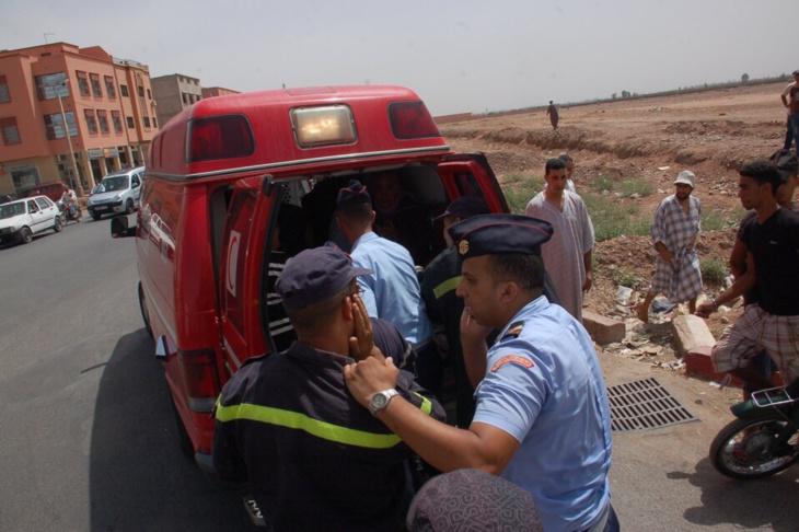 سائق دراجة من نوع س90 يدخل في غيبوبة بعد أن دهسته سيارة رباعية الدفع بمراكش