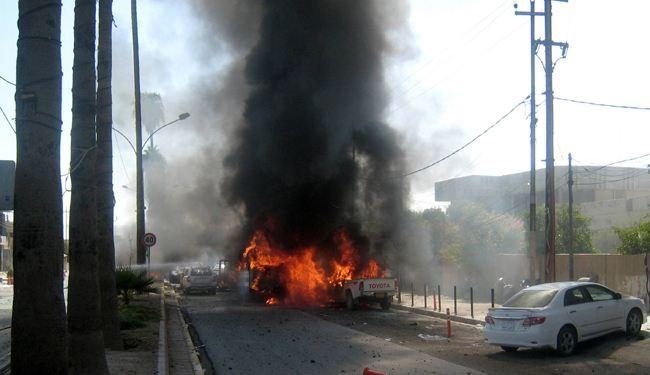 مقتل 23 شخصا وإصابة 68 في تفجيرات بوسط العاصمة العراقية