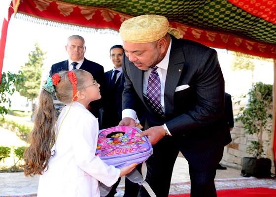 الملك محمد السادس يعطي انطلاقة الموسم الدراسي 2015 - 2016