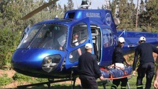 إنقاذ حياة سويسري بعد نقله بواسطة مروحية من بني ملال إلى مستعجلات إبن طفيل بمراكش