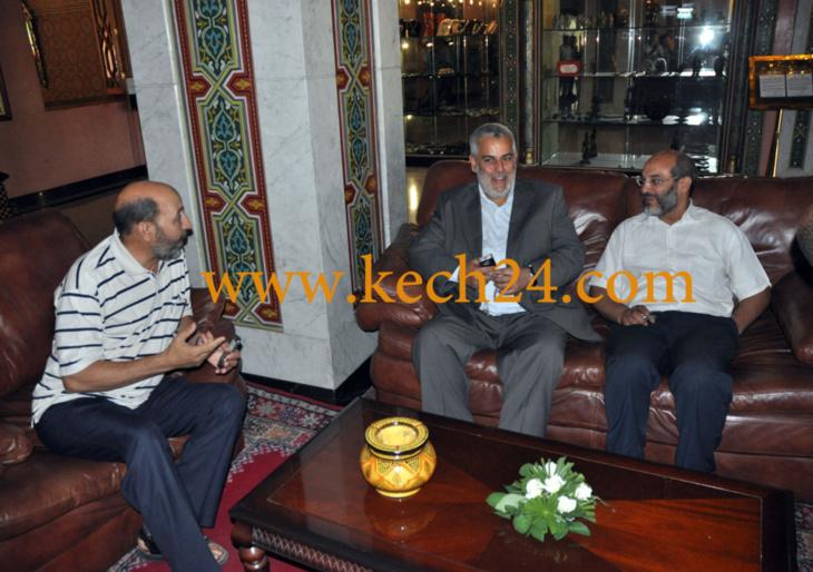 بنكيران يجتمع برؤساء الجماعات والجهات المنتخبين باسم حزب العدالة والتنمية