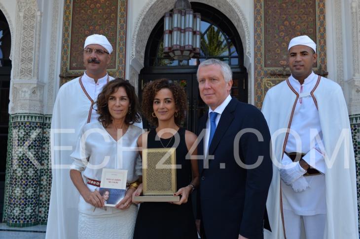"""رواية """"في حديقة الغول"""" لكتابتها ليلى سليماني تفوز بجائزة المامونية الأدبية بمراكش"""