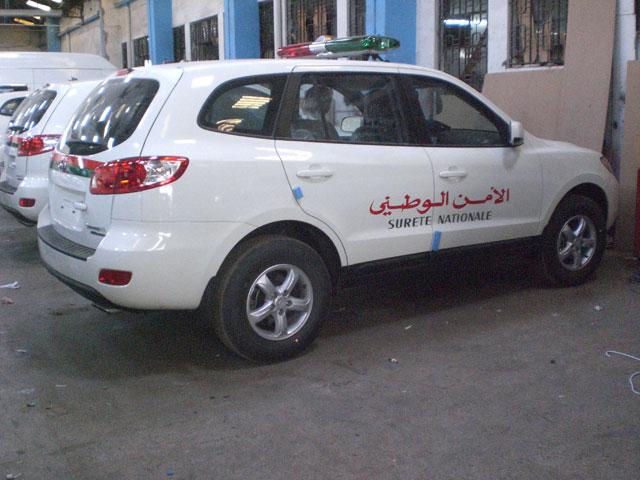 والي الجهة عبد السلام بيكرات يشرف على تسليم سيارات جديدة رباعية الدفع لأمن مراكش