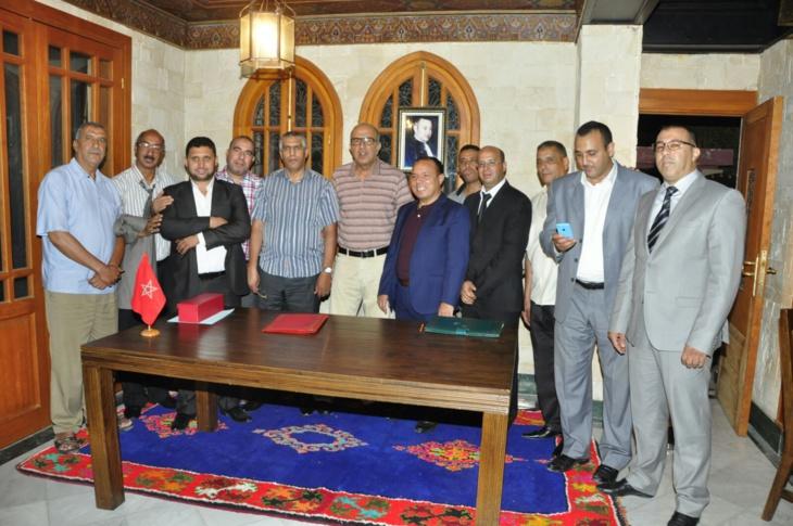 توقيع اتفاقية شراكة بين المرصد المغربي للحقوق والحريات والمفوضين القضائيين بمراكش