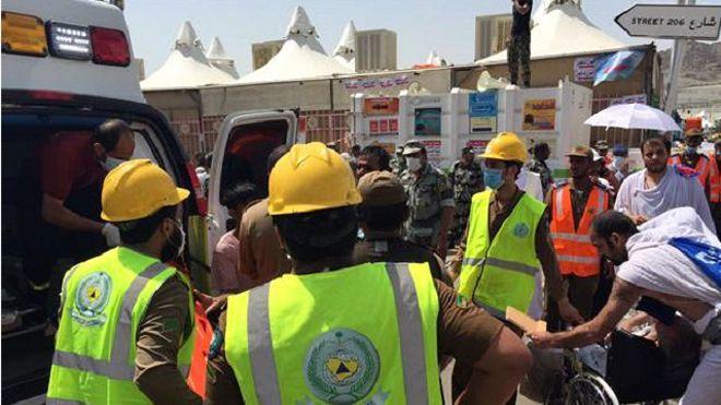 عاجل: ارتفاع حصيلة القتلى في تدافع الحجاج بمنى إلى 717 قتيلا