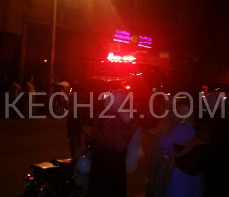 عاجل : انفجار قنينة غاز بمخبزة يروع ساكنة حي مبروكة بمراكش + صورة حصرية