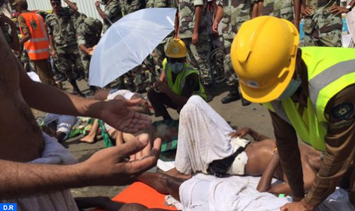 الديوان الملكي يدخل على الخط في حادث تدافع منى : وفاة 3 حجاج مغاربة واصابة 6 اخرين بجروح حصيلة أولية