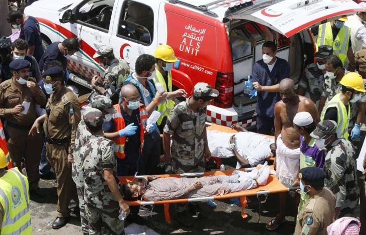 وفاة 37 حاجا مصريا في حادث التدافع بمشعر منى