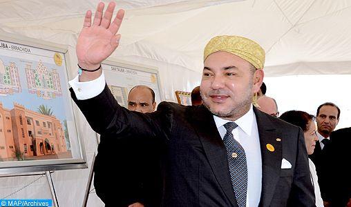 الملك محمد السادس يدشن الشطر الأول من