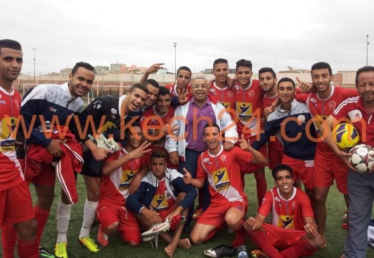 شبان وفتيان أولمبيك مراكش يحصدون 3 نقاط من شباب قصبة تادلة + تفاصيل