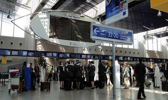ارتفاع عدد المسافرين المتوافدين على مطار محمد الخامس وتراجع على مستوى مطار مراكش