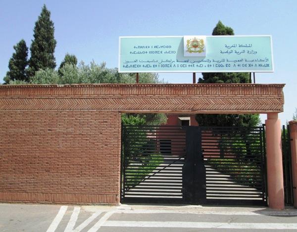 مدير أكاديمية مراكش يدفع بلجنة مختلطة إلى مجموعة مدارس الشريفية
