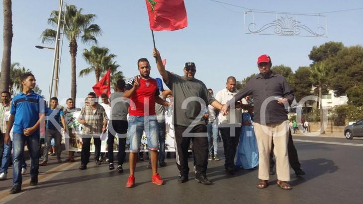 43 ألف مغربي يتظاهرون أمام السفارة السويدية + صور