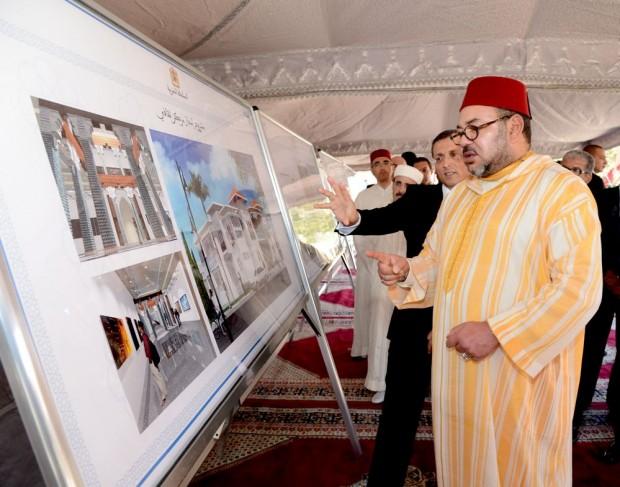 """الملك يطلق برنامج التنمية المجالية لإقليم الحسيمة الذي يحمل اسم """"الحسيمة منارة المتوسط"""""""