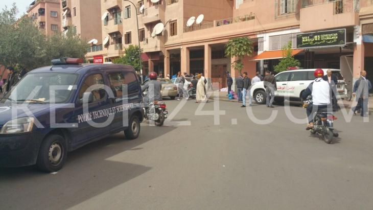 وفاة متشرد بالشارع العام بحي المسيرة بمراكش