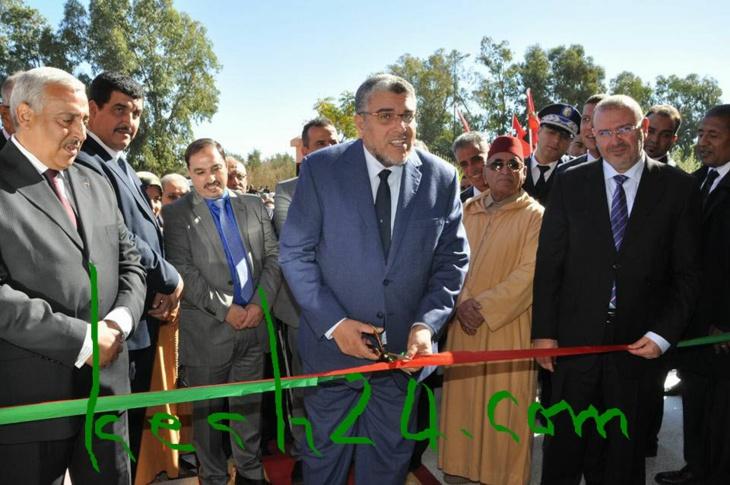 وزير العدل والحريات يدشن مركز القاضي المقيم بشيشاوة