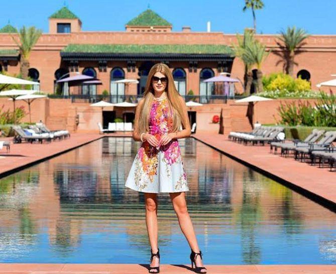 بالصور : هذه هي عارضة الأزياء التي جعلت كريستيانو رونالدو يتردد مرارا على المغرب