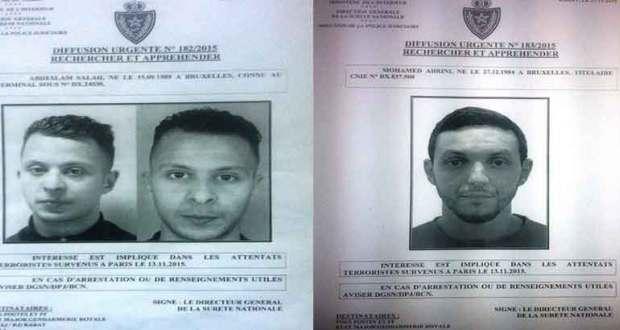 المصالح الامنية بالمغرب تنشر صور متورطين في اعتداءات باريس في حالة فرار