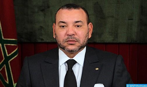 الملك يعزي أفراد أسرة المعارض الجزائري المرحوم حسين آيت أحمد