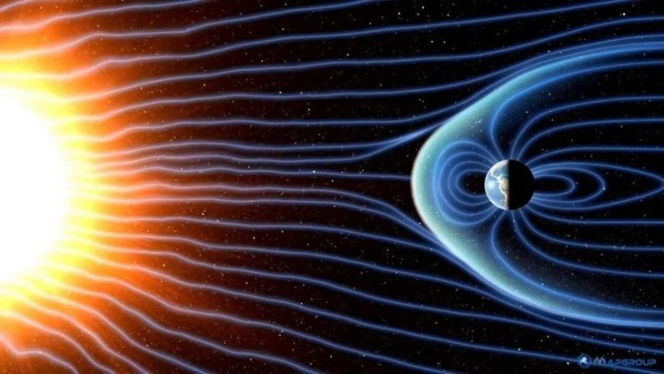 عاصفة مغناطيسية قد تعصف بالأرض ليلة رأس السنة