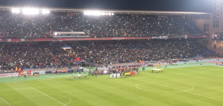 ملعب مراكش يحتضن أولى مباريات عصبة الابطال الافريقية بين هذين الفريقين