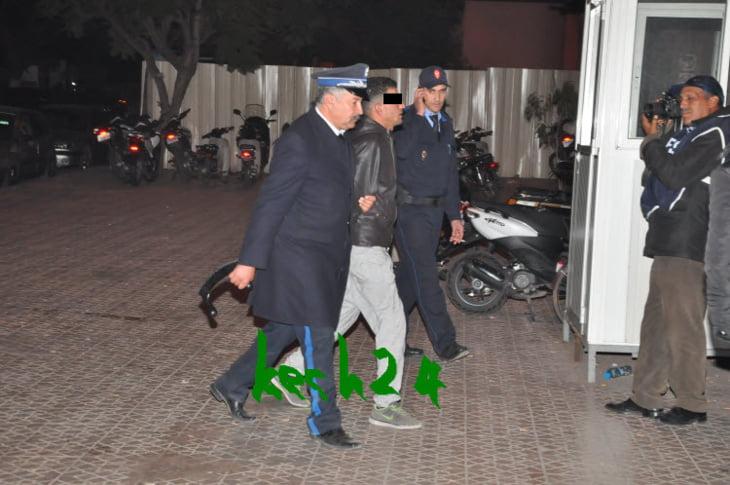 أمن مراكش يعتقل