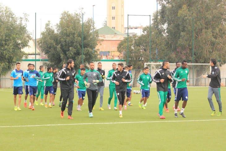 فريق الرجاء البيضاوي يعسكر في مراكش بدل أوربا