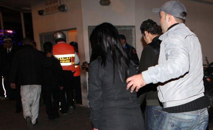 اعتقال مقاول معروف في وضع حميمي مع خليلته المتزوجة ليلة رأس السنة الجديدة
