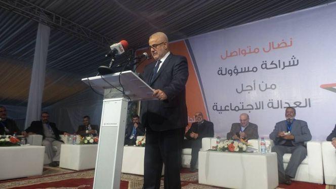 بنكيران يكشف من مراكش عن عدد الوزراء الذين يتقاضون المعاش مدى الحياة