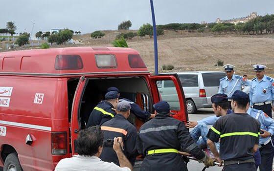 حافلة الزا تتسبب في حادثة سير خطيرة بمراكش