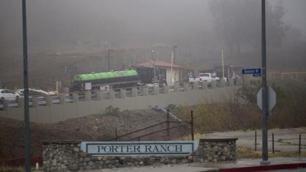اعلان حالة الطوارئ في ولاية كاليفورنيا بسبب تسرب