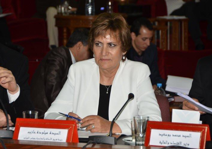 النائبة المراكشية ميلودة حازب تتهم الحكومة بتجاهل رأي مجلس اليزمي بشأن قانون المناصفة