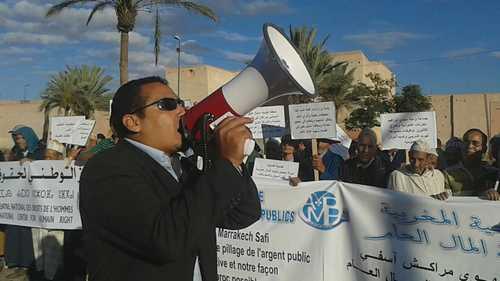 المركز الوطني لحقوق الإنسان يدخل على خط اعتقال بطل عالمي في