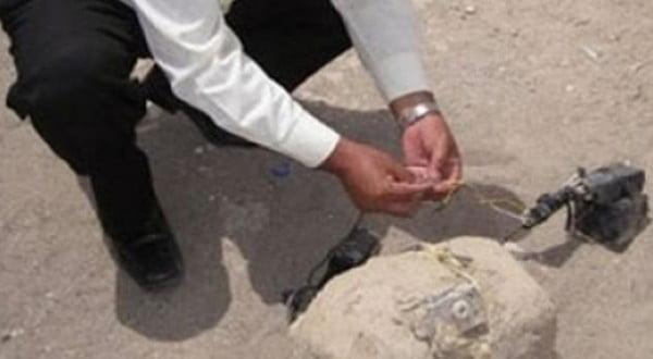 استنفار امني بعد العثور على قنبلة بالقرب من محل تجاري لبيع الزيتون