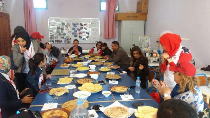 جمعيات مناصرة لفريق الوداد البيضاوي تنظم حملة مساعدات لفائدة هذه المنطقة باقليم الحوز