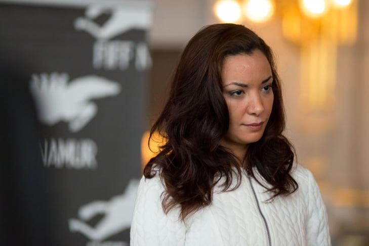 الممثلة الفرنسية