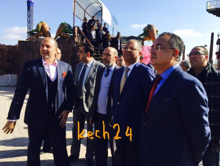 وزير السياحة الحسن حداد يدشن منتزه