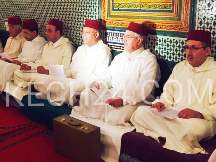 هبة ملكية لأحفاد الواليين الإمام السهيلي والجزولي بمراكش في غياب القناة الأولى لتغطية الحدث