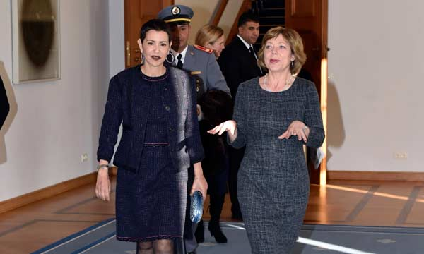 زوجة الرئيس الألماني
