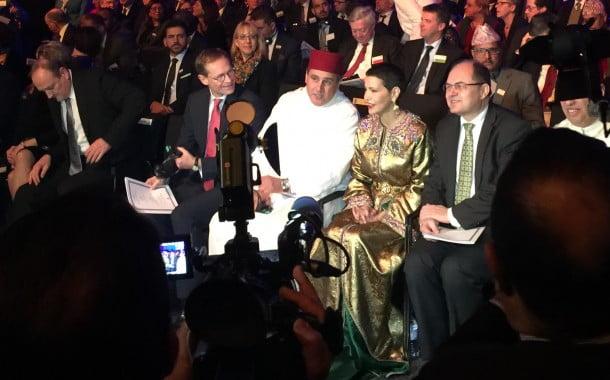 الأميرة للا مريم تتلو الرسالة الملكية في حفل افتتاح الدورة الـ 81 للأسبوع الأخضر الدولي لبرلين