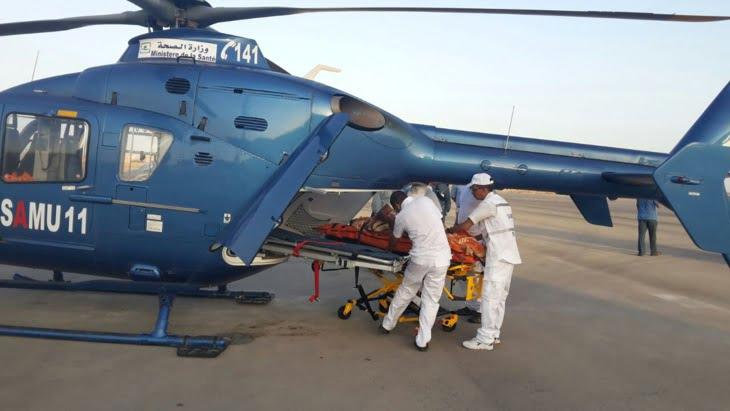نقل مريض في وضعية حرجة من العيون إلى المركز الاستشفائي الجامعي محمد السادس بمراكش